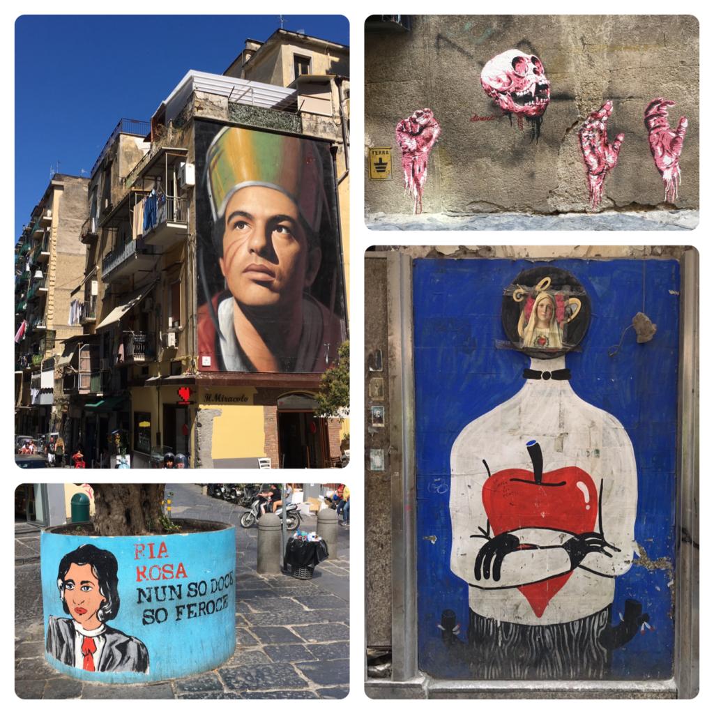 street art napels centrum