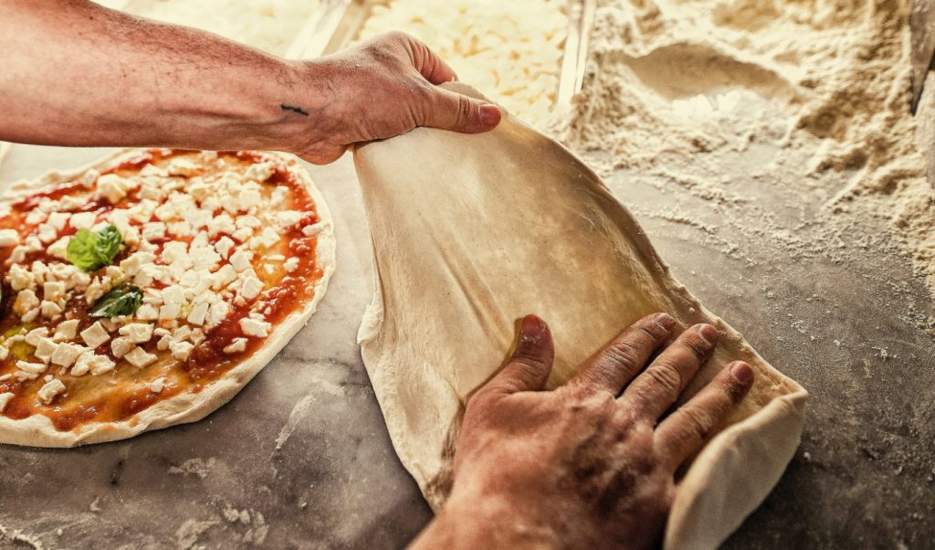 pizza bakken napels workshop