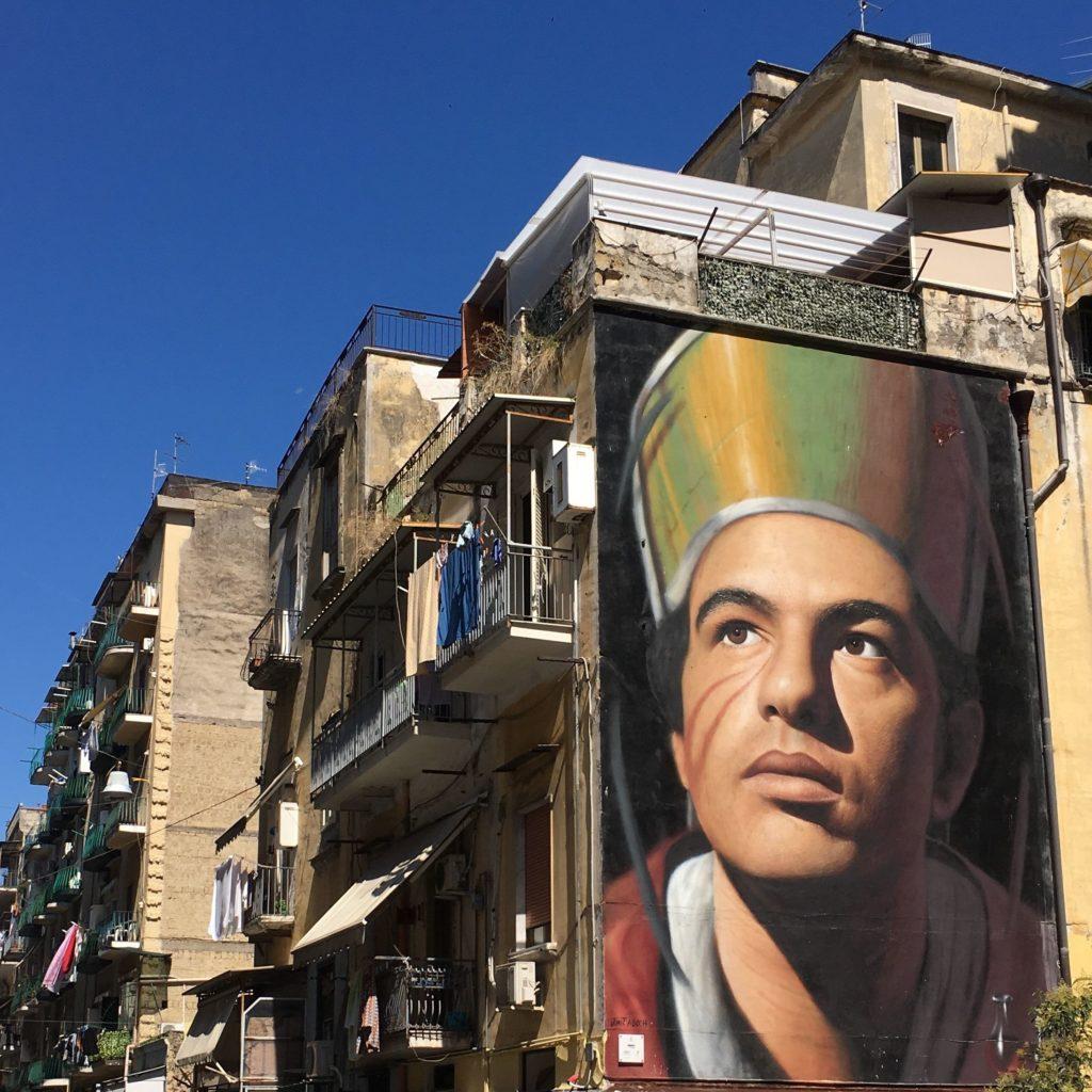 san gennaro street art napels jorit