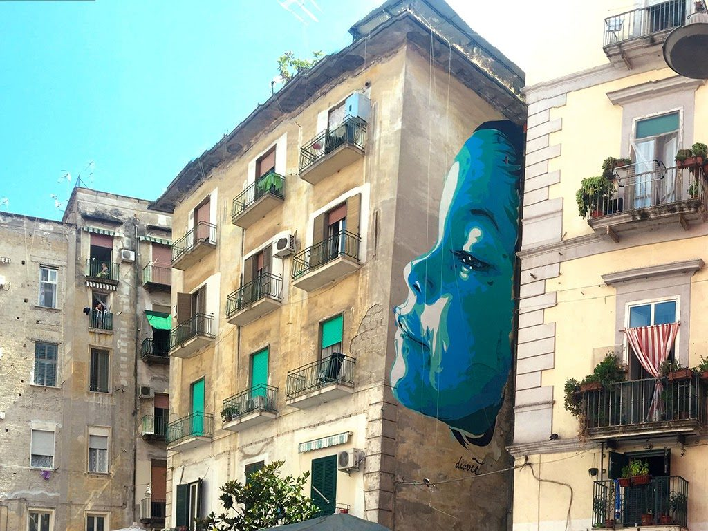 street art napels diavu