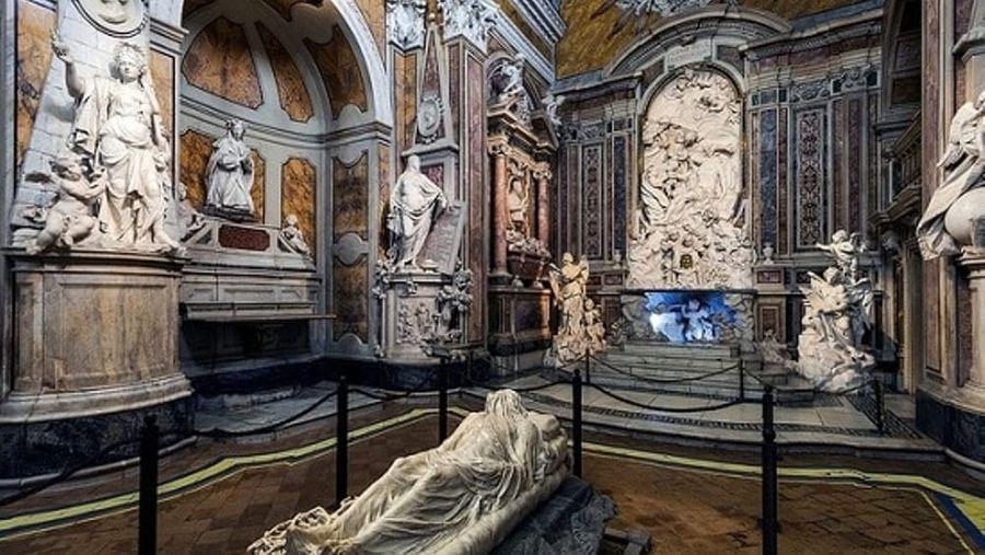 san severo kapel met cristo velato in napels
