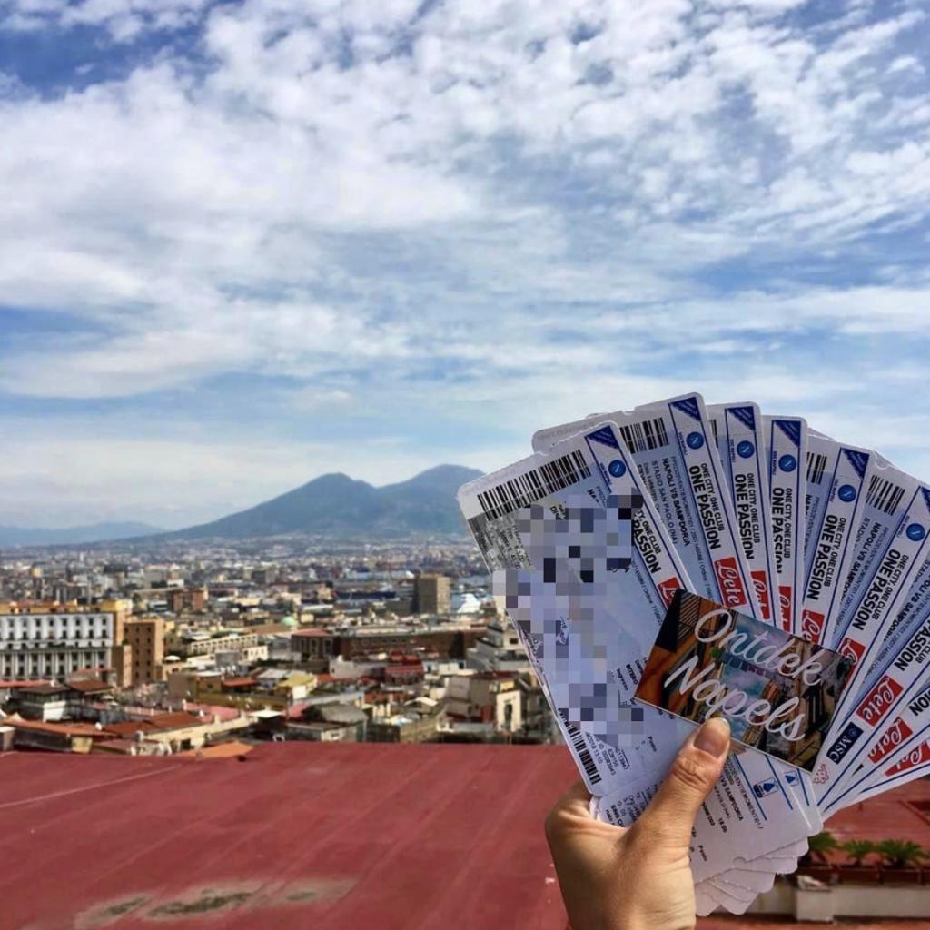 tickets wedstrijd Napoli