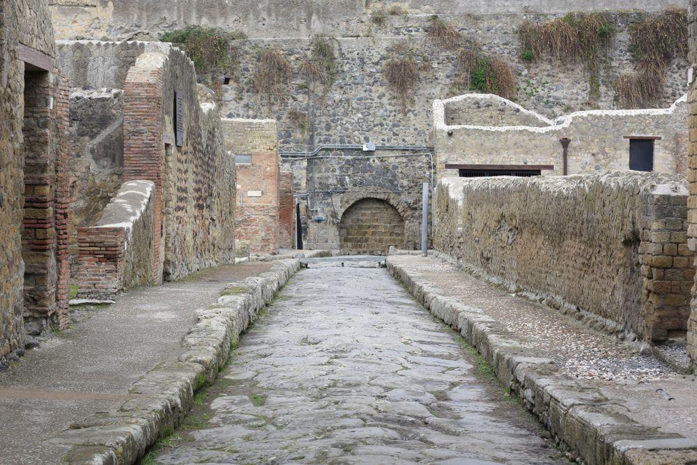 straten van Herculaneum